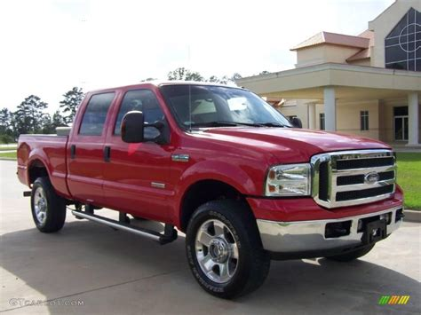how it works cars 2005 ford f350 interior lighting 2005 red ford f350 super duty xlt crew cab 4x4 8592756