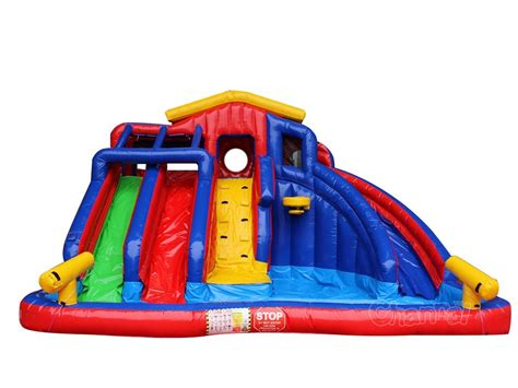 backyard inflatables colorful backyard inflatable water slide channal inflatables