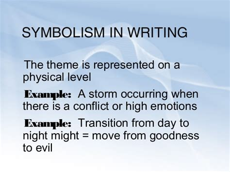 Symbolism In Poetry Essay by Symbolism