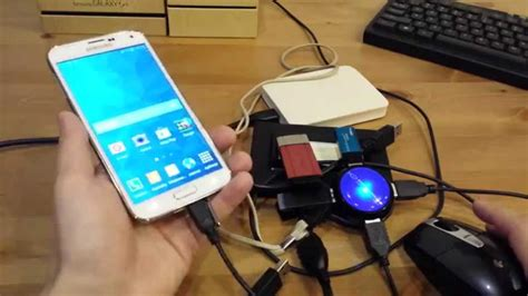 Kabel Otg Hdmi by Samsung Galaxy S5 Otg Obsługa Urządzeń Usb Mysz
