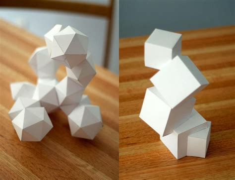 3d craft projects 3d foundations paper projects by jurassictodd on deviantart