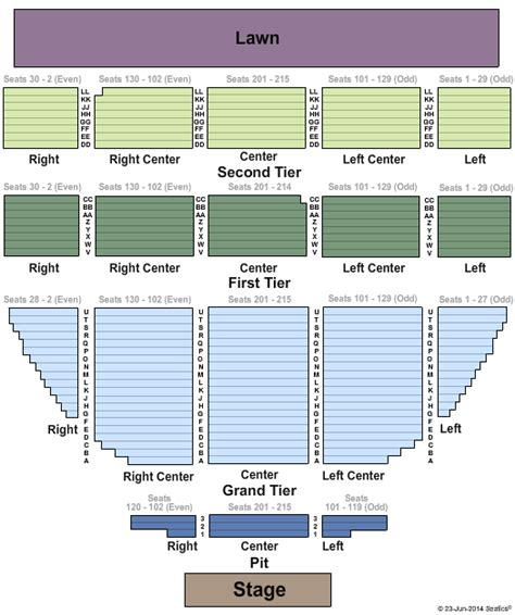 mainstage concert templates artpark seating chart artpark mainstage tickets in