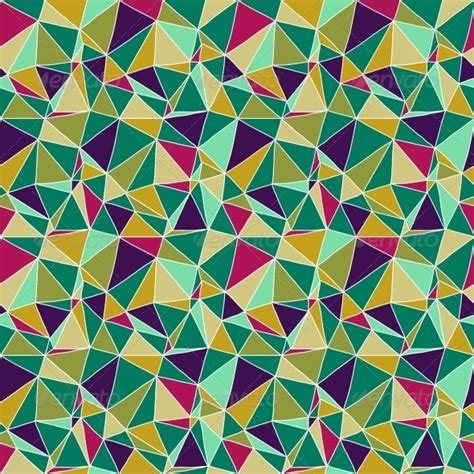 Geometric Origami Patterns - abstract geometric origami paper vector background