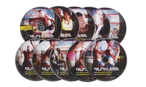 weider ruthless exercise dvd kit groupon