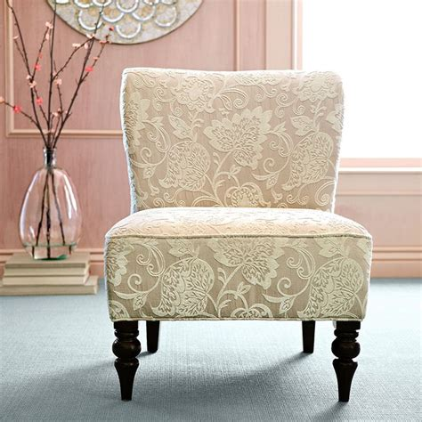 slipper chairs pier one addyson chair ivory home decor furniture ideas