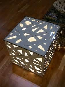 light box laser cut design