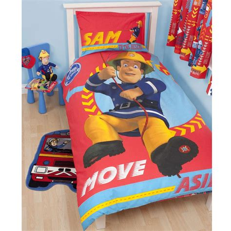 Fireman Sam Bedroom Furniture New Fireman Sam Bedroom Accessories Bedding Furniture Official Ebay