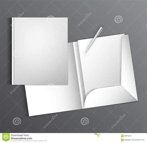 ready templates for presentation mock up template ready design with a folder and pen blank