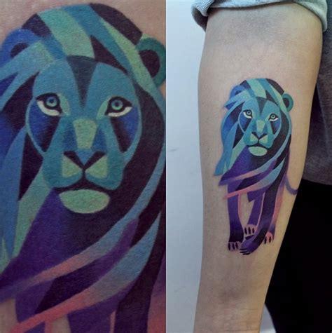 tatuajes geom 233 tricos coloridos de animales todo