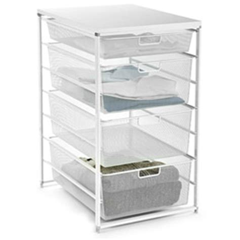 elfa mesh start a stack dresser closet drawers from the