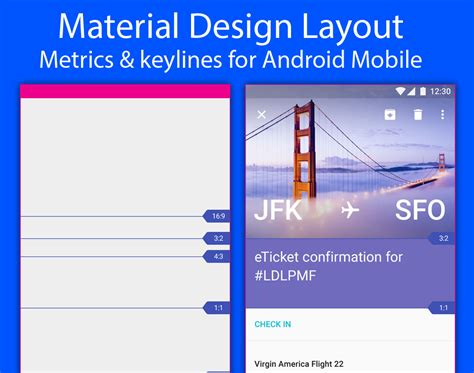 material design layout in android psd gang provides free high quality mobile ui psd