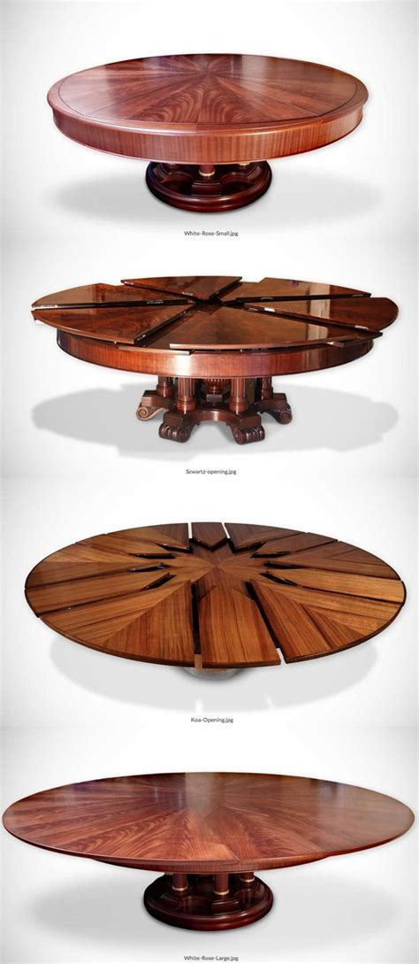 Fletcher Capstan Table For Sale by The Fletcher Capstan Table Expands By Simply Spinning The