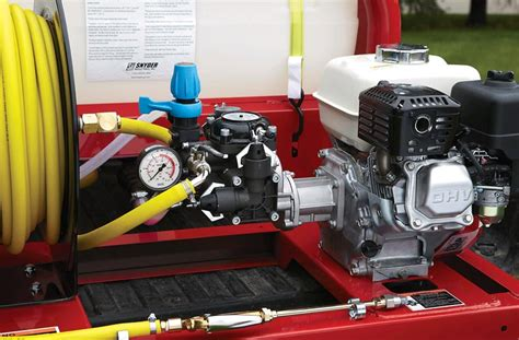 northstar pest control skid sprayer  gallon tank cc honda gx engine