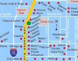 Casino Map Las Vegas by Las Vegas Hotel Map Venetian Hotel And Casino Las Vegas