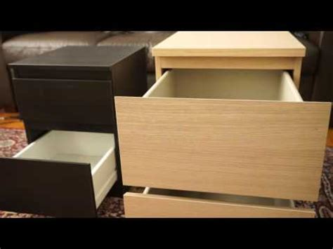kullen nightstand ikea 2 drawer chests kullen vs malm youtube