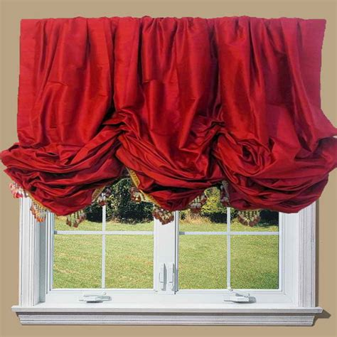 Balloon Shades For Windows Inspiration Doors Windows How To Create The Balloon Window Shades