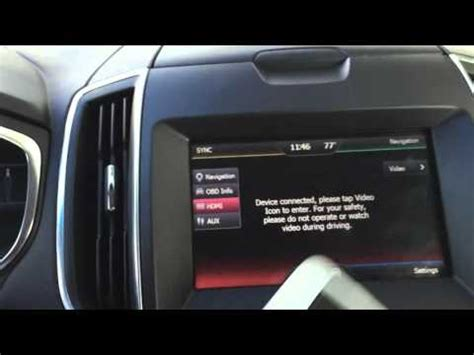 ford sync navigation not working 2015 ford edge 2016 ford edge navigation interface