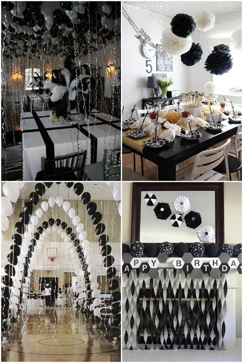party themes black black and white graduation party ideas party pinterest