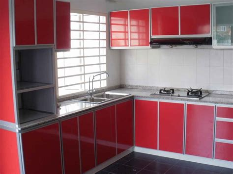 Aluminium Kitchen Cabinet Above Kitchen Cabinet Decor Photos Decosee