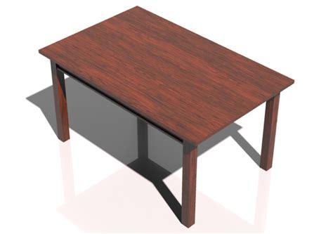 tavoli 3d tavoli 3d tavolo rettangolare 150x95cm acca software