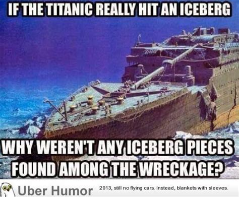 boat crash jokes funny titanic quotes quotesgram
