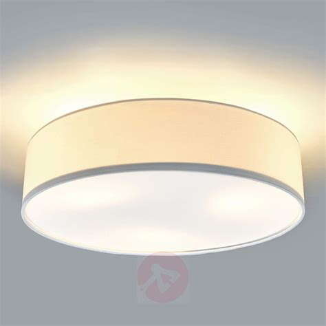 Fabric Ceiling Lights Coloured Fabric Led Ceiling Light Sebatin Lights Co Uk