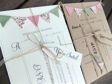 Handmade Wedding Invitation Ideas - handmade wedding invitation ideas infoinvitation co
