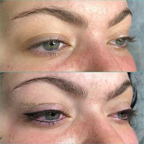 tattooed winged eyeliner winged eyeliner cosmetic eyeliner tattooing by regan
