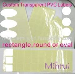 Label Stiker Nama Water Proof Size S Hello custom blank clear stickers transparent self adhesive