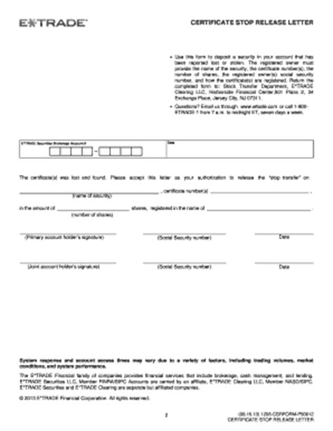 Certificate Release Letter Mortgage Release Letter Forms And Templates Fillable