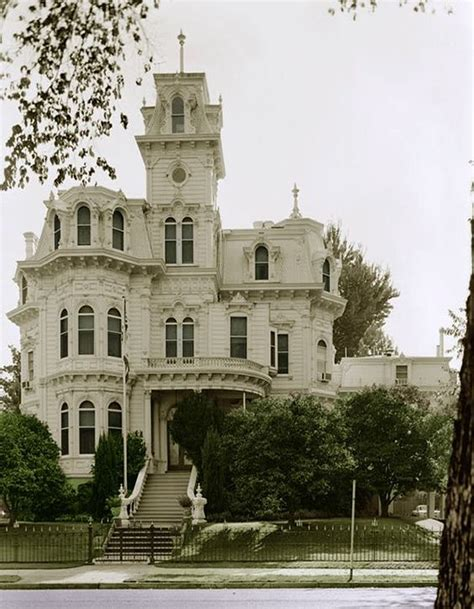 victorian gothic homes albert gallatin house in sacramento this house became