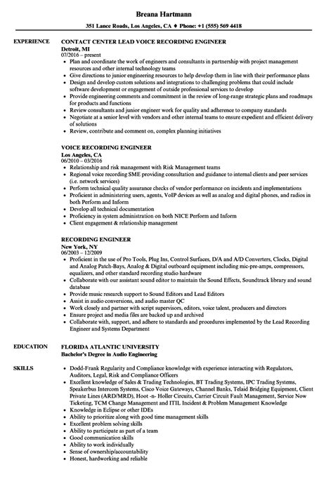 Biotech Patent Attorney Sle Resume by Audio Engineer Sle Resume Sle Of Resume For Students Biotech Patent Attorney Cover Letter