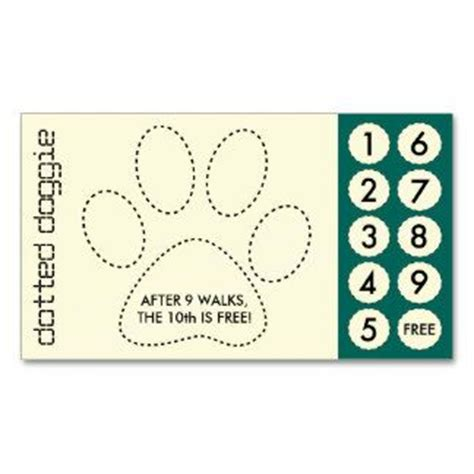 coupon punch card template 67 best images about customer loyalty business cards on