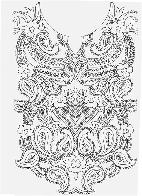 neck pattern sketch embdesigntube embroidery sketches shared by sarika agarwal