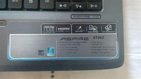 Adaptor Laptop Acer Aspire 4736z notebook acer aspire 4736z sem hd r 550 00 em mercado livre