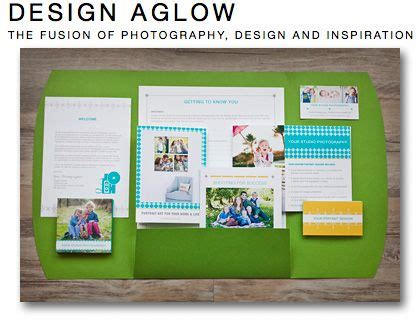 marketing packet template 33 best images about photography packaging on