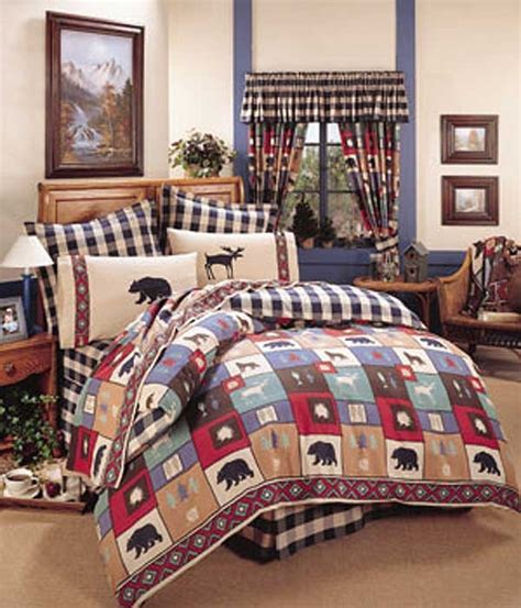 the woods comforter set cabin bedding blanket warehouse