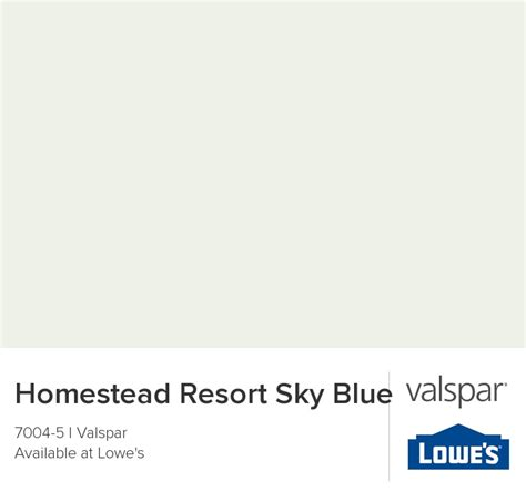 valspar paint color chip homestead resort sky blue great room paint colors