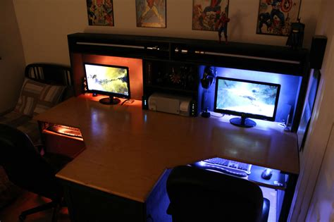 Cool Gaming Bedrooms by Gaming Setup On Gaming Computer Gaming Rooms