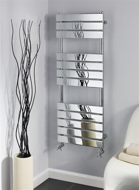 Troon 3 section chrome towel warmer alliance sanitary products limited