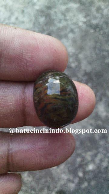 Batu Akik Badut batu cincin indonesia panca warna loreng macan