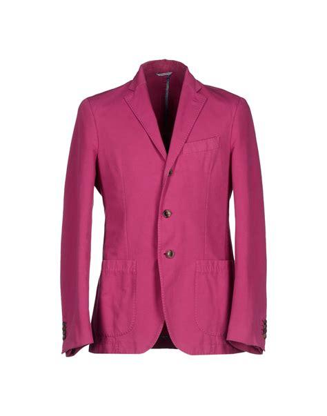 Dpurple Coat Blazer Ungu Korea Jaket lyst altea blazer in purple for