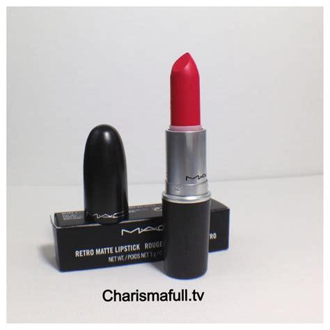 mac matte mac retro matte lipsticks in relentlessly and flat out