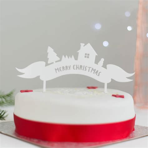 merry christmas cake decoration billingsblessingbags org