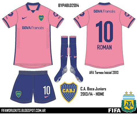 Boca Junior Away 201617 Berkualitas fifa world kits argentina enero 2014