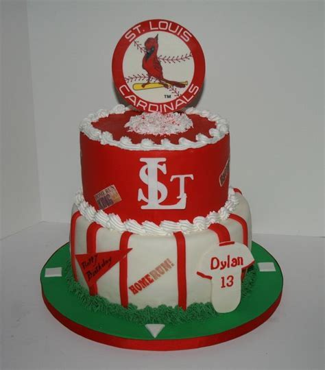 50 best St. Louis Cardinals Cakes images on Pinterest