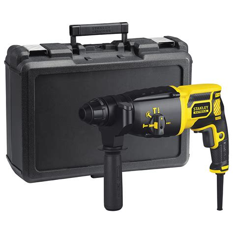 Stanley Sds Mansory Dril Bit Sta54002 stanley power tools corded drilling 750w 1 8j sds plus hammer drill fme500k