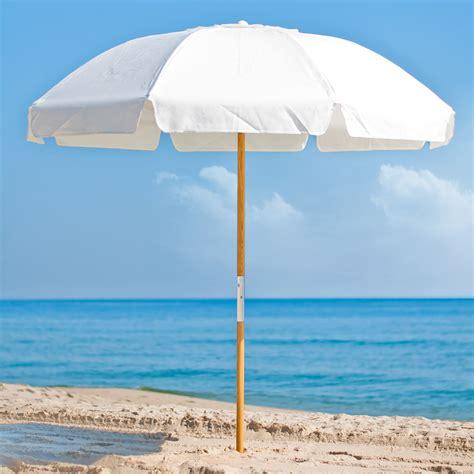 7.5 ft Frankford Acrylic Beach SPF 50 Umbrella with Vent