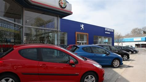 Peugeot Garage Cardiff by Portfolio Archive Senior Architectural Systems