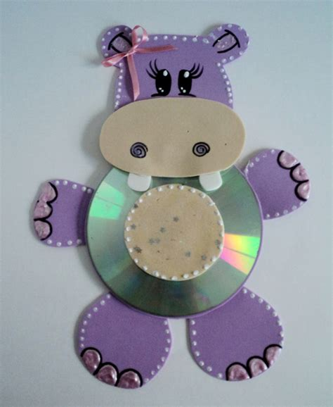 cd crafts for cd animal craft for picturescrafts